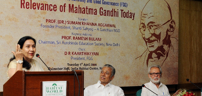 Relevance of Mahatma Gandhi Today