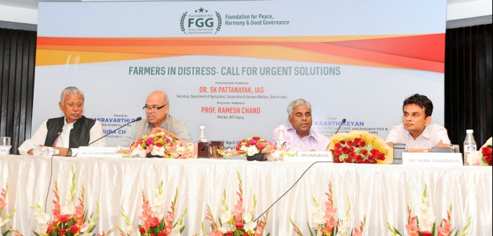 Farmers in Distress- Call for Urgent Solutions